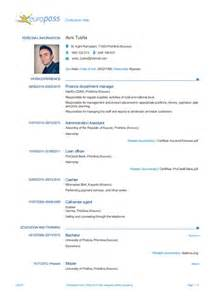 Curriculum Vitae Education avni tusha cv europass 2015