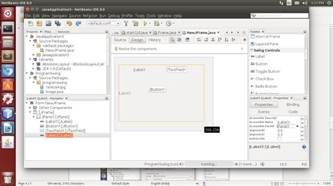 swing application in netbeans create a swing application using 28 images creating
