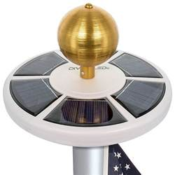 best solar light for flagpole amazing flag pole lights collection home gallery image