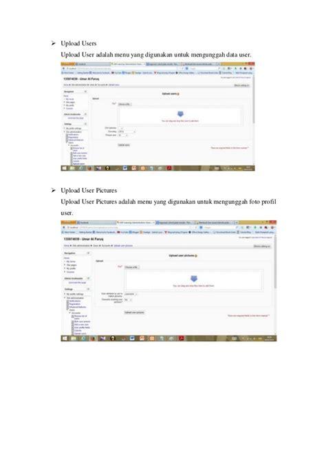 Cara Membuat Website E Learning | e learning cara membuat user di moodle