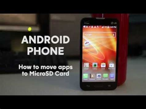 free up space on android phone how to move apps to sd card on android phone free up space and increase storage