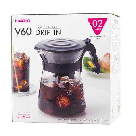 Dijamin Hario V60 Plastic Dripper Size 02 Transparant hario v60 drip in server size 02 700 ml crema