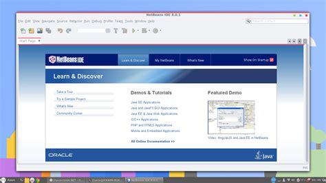 tutorial install netbeans tutorial cara install netbeans ide 8 1 di ubuntu 14 04 13