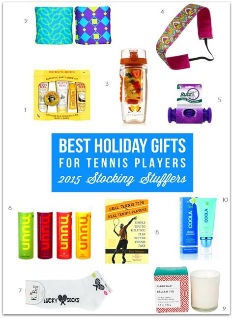 best holiday gifts for tennis players 2015 stocking stuffers
