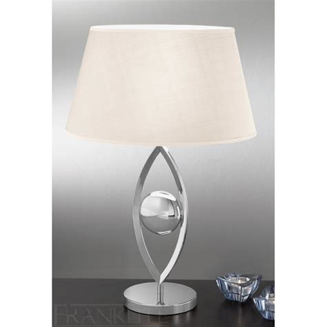 Table Lamps Modern by Franklite Tl872 Modern Chrome Table Lamp Love4lighting