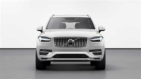 Volvo Xc90 Facelift 2020 Uk by Volvo Xc90 Facelift Revealed With Kers For Better Fuel