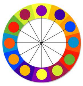 contrast color wheel design color and design combining colors