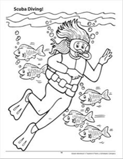 Printable Scuba Diver Coloring Pages by Scuba Diver Coloring Pages Printable Sketch Coloring Page