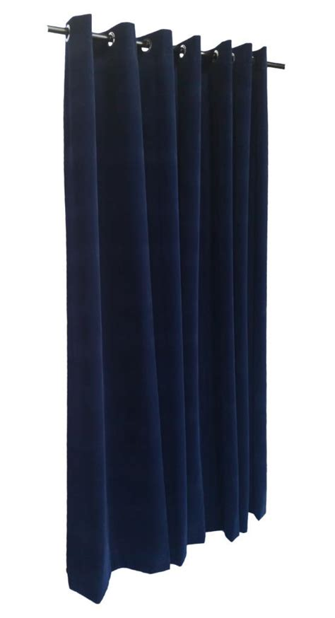 extra long grommet curtains navy blue 14 extra long velvet curtain panel w grommet