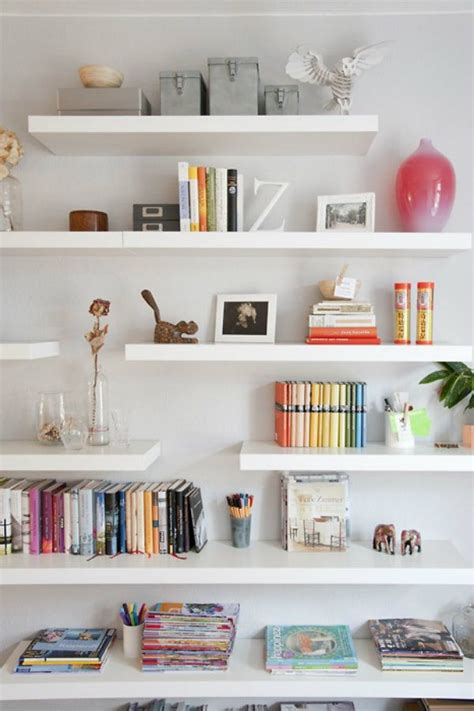 25 best ideas about floating bookshelves on