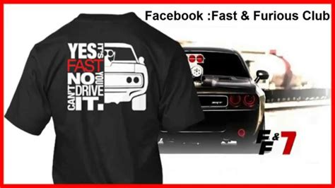 Tshirt The Fast And The Furious t shirts fast furious 7