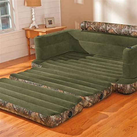queen size pull out bed intex inflatable realtree camo print queen size pull out sofa bed 68566ay endurro