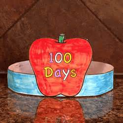 100 days of school hat template 100 days of school hat paper craft