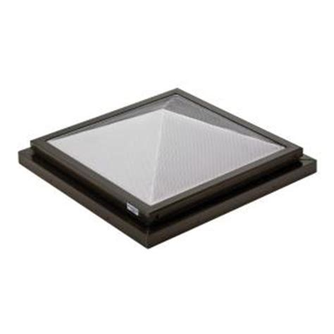 Home Depot Skylights by Sunoptics Prismatic 2 Ft X 2 Ft Fixed Curb Mounted