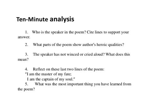 Invictus Essay by Invictus Poem Analysis Essay Mfacourses887 Web Fc2
