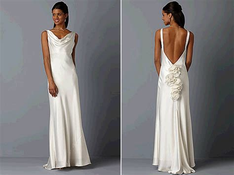 kate middleton wedding evening dress ivory silk cowl neck wedding dress with open back