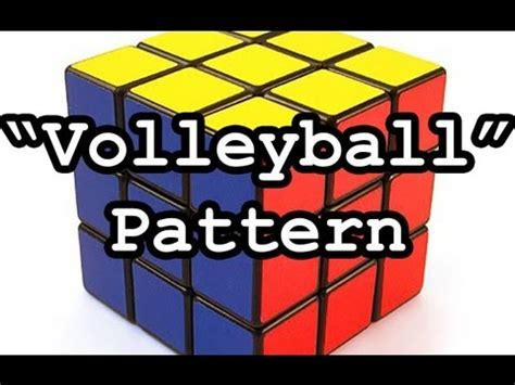 4x4 rubik s cube parity tutorial rubik s cube volleyball pattern tutorial 3x3 and even