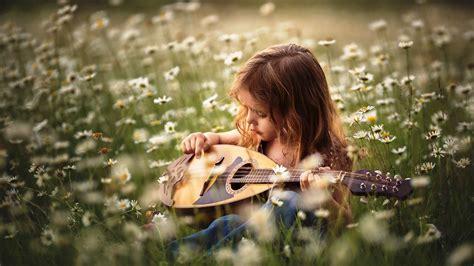 wallpaper girl with guitar summer girl playing mini guitar wallpapers 1920x1080