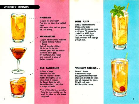 cocktail recipes cocktails made easy pages 4 5 chris b day