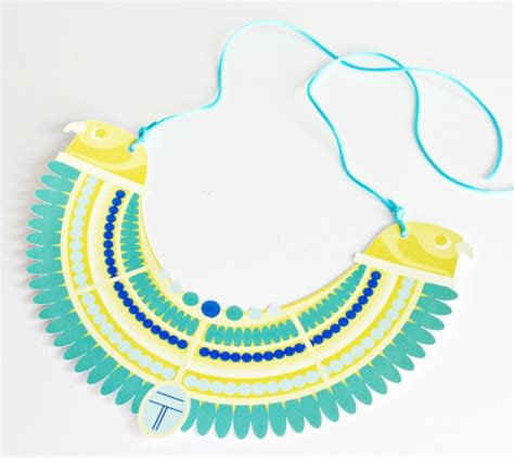 ancient collar template collection craft for pictures pharaoh