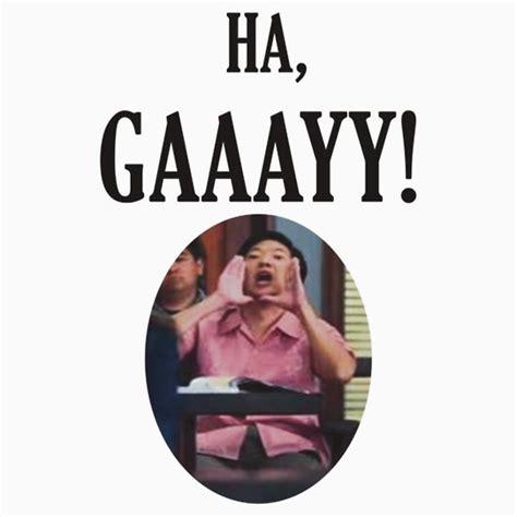 Ha Gay Meme - quot ha gay quot t shirts hoodies by blakethewizz redbubble