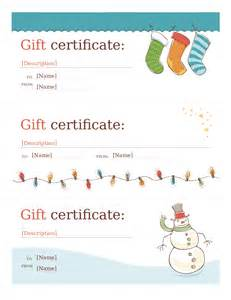 Store Gift Certificate Template by Gift Certificate Template Free Printable Gift
