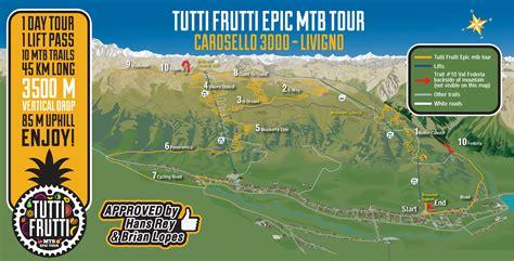 tutti i frutti testo livigno ecco il tutti frutti epic tour mtb tech cycling
