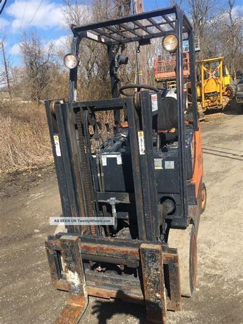 doosan forklift gc25p 5 truckers mast gm engine