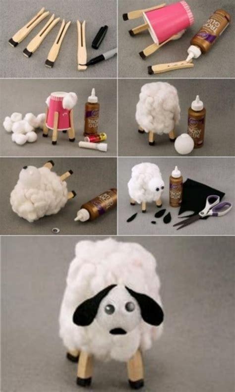como hacer una oveja en foami imagui manualidades de animales oveja de algod 243 n fiestas y cumples