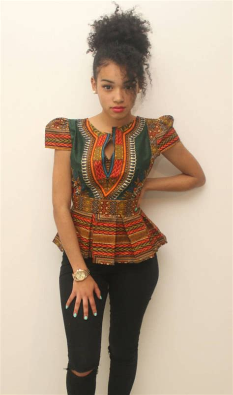 african clothing for women dashiki blouse dashiki top ankara women s blouse