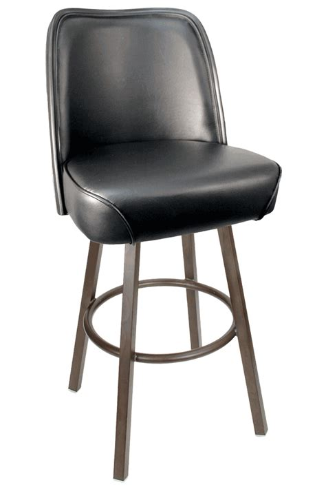 commercial bar stools gladiator commercial black bucket seat bar stool w pvc