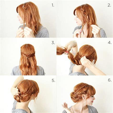 tutorial rambut simple tutorial sanggul simple cara membuat sanggul simple dan