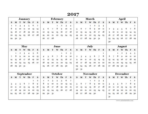 blank yearly calendar template  printable templates