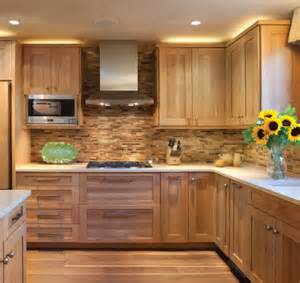 Timber Kitchen Cabinets by 15 Contemporary Wooden Kitchen Cabinets Hickory Cabinets