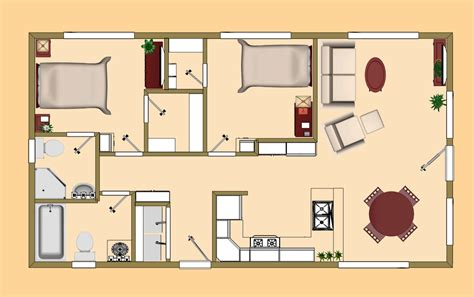 claremont small houses 700 square feet small homes the 720 sq ft rosebud s floor plan cozys 700 sq ft sq