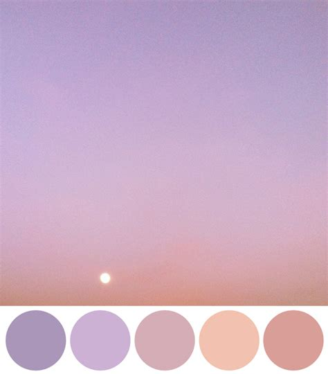 lavender color scheme color schemes inspired by instagram photos of the sky