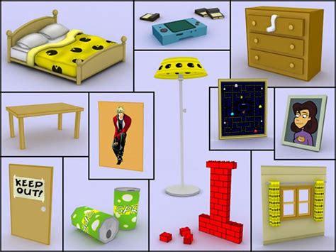 objects in the bedroom gabe s bedroom objects image cardboard tube showdown mod