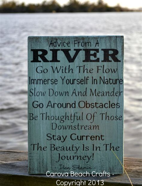 river home decor advice river wood sign from carova
