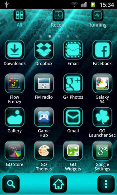 themes for android free cyanogen theme go launcher free app android freeware