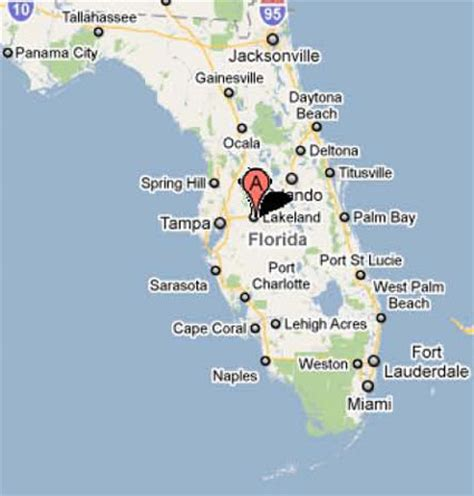 lakeland florida map sighting reports 2011