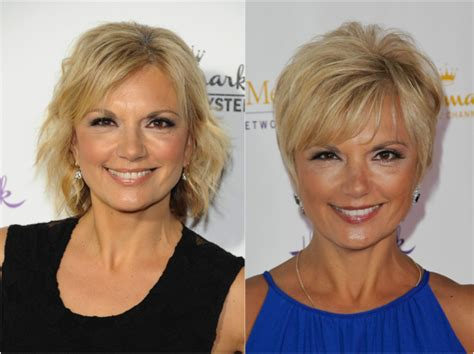 before and after hairstyles for 50 hairstyles for women over 50 before and after long