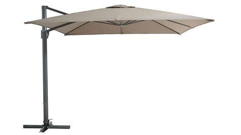 Out Door Umbrellas Pa 3 5m Octagonal Cantilever Outdoor Umbrella Toffee