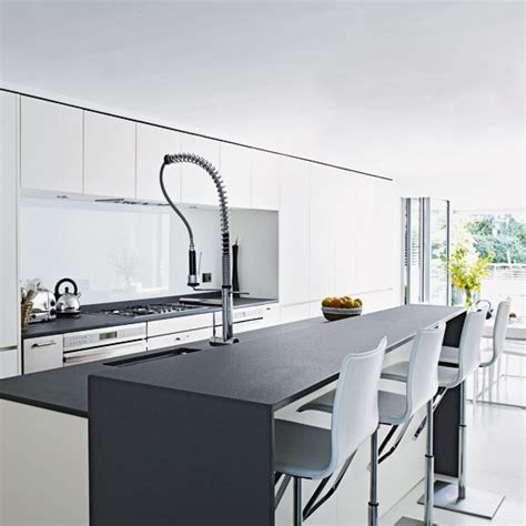 Gray And White Kitchen Designs Kitchen Ideas Ideas For Kitchen Kitchen Designs Housetohome Co Uk