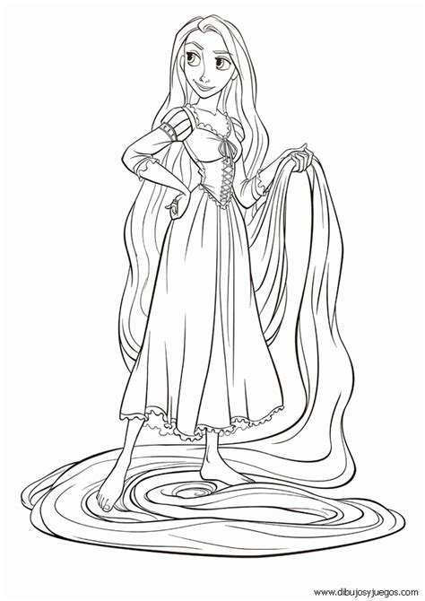 dibujos para pintar de princesas para imprimir imagui princesa rapunzel para colorear e imprimir imagui