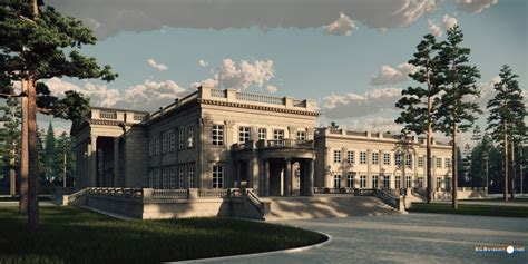 House Plans One Level the goldwood house a proposed grand estate homes of