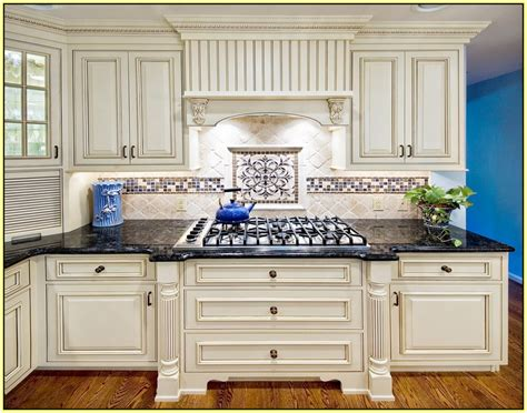kitchen backsplash ideas with cream cabinets kitchen tile backsplash ideas with cream cabinets home