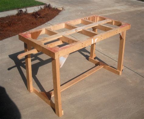 portable woodworking bench portable saw buck glue bench potting table by