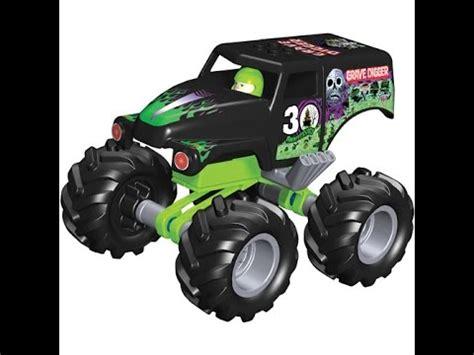 grave digger monster truck toys for kids monster truck grave digger toys for kids youtube