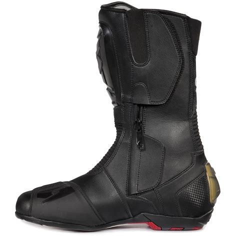 motorcycle track boots spyke rocker motorcycle boots sports bike race track boot