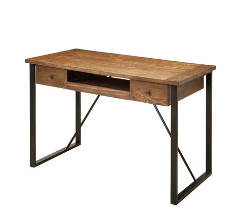 Industrial Office Desks Industrial Style Desk With Keyboard Drawer Co 200 Desks